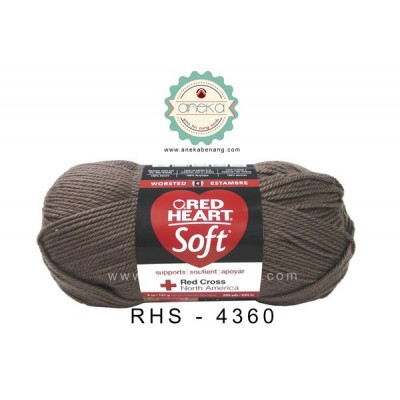 Red Heart Soft #4360 (Cocoa)